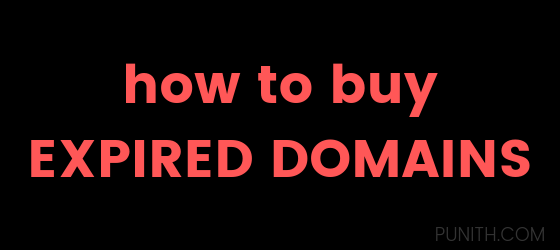 How I Buy Expired Domain Names To Earn 4000