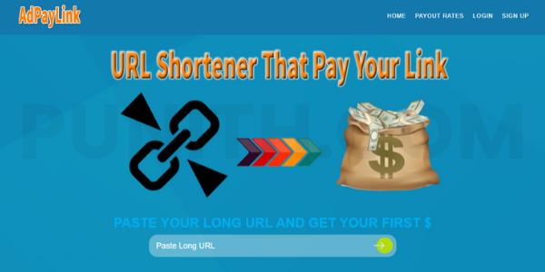 AdPayLink URL Shortener الذي يدفع 13 دولارًا للزيارات الألمانية